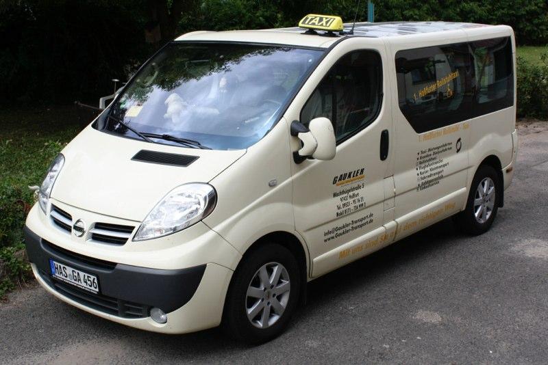 Taxi Gaukler Haßfurt - Nissan Der Bullige
